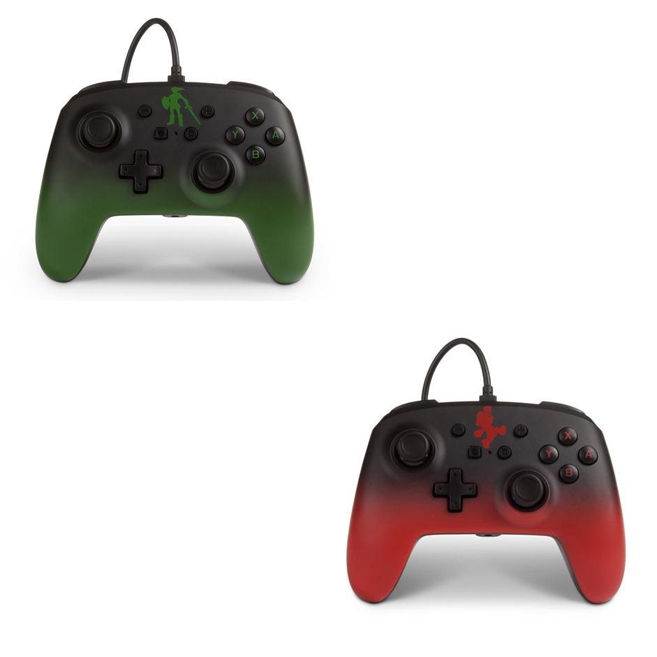 Manette filaire PowerA Legend of Zelda ou Super Mario pour Nintendo Switch