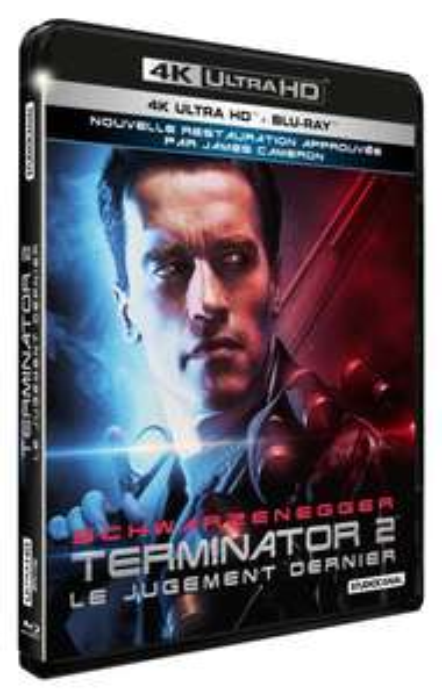 Blu-Ray 4K + Blu-ray de Terminator 2 Édition Director's Cut ou de The Passenger