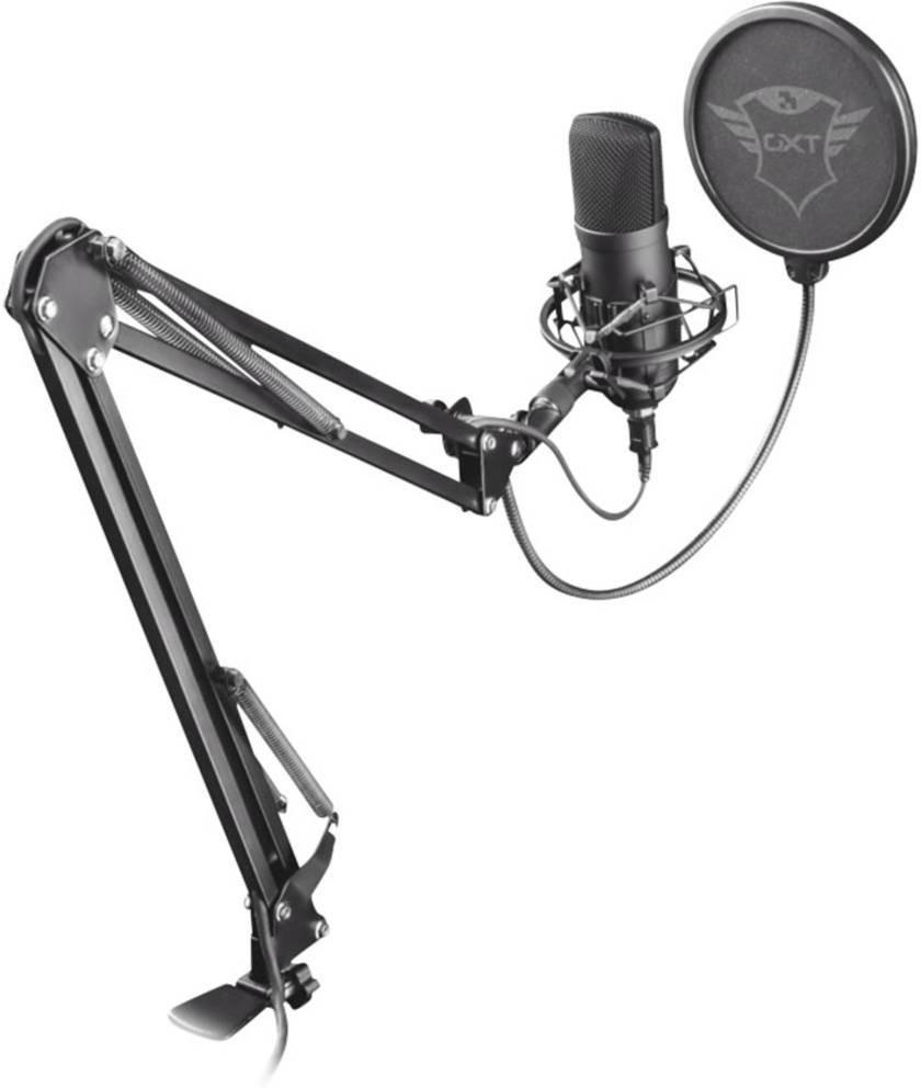 Microphone USB avec bras articulé Trust GXT 252+ Emita Plus