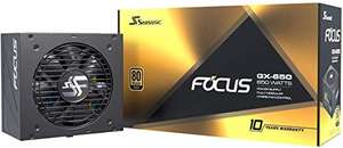 Alimentation PC modulaire Seasonic Focus GX-650 - 80+ Gold, 650W