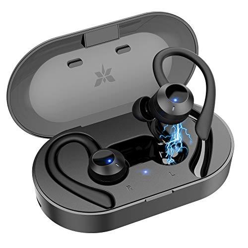 Écouteurs sans-fil Axloie - Bluetooth, IPX6 (Via Coupon - Vendeur tiers)