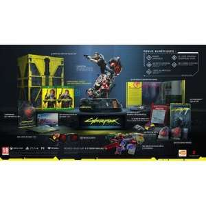 Cyberpunk 2077 Edition Collector sur PS4 (compatible PS5)