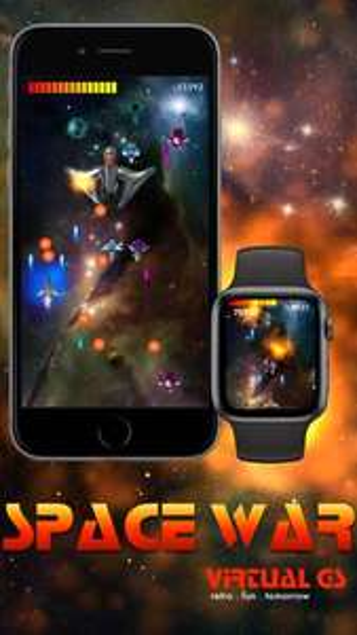 Jeu Space War GS gratuit sur iOS & Apple Watch
