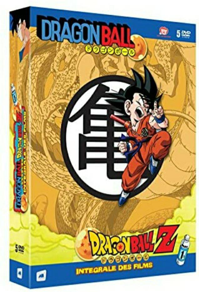Coffret DVD Dragon Ball & Dragon Ball Z : L'intégrale des Films (Partie 1)