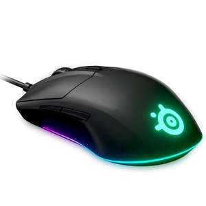 Souris filaire SteelSeries Rival 3 - 6 boutons programmables, 8500 dpi