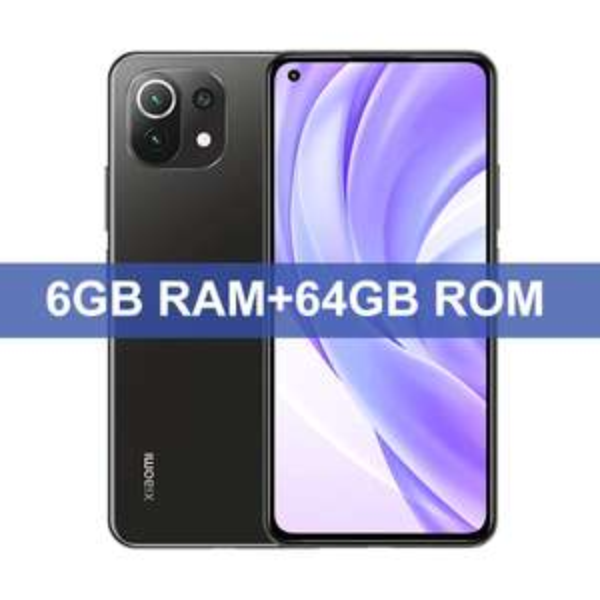 Smartphone Xiaomi Mi 11 Lite 4G - 64 Go, 6 Go de RAM, Snapdragon 732G Octa Core, NFC, Version globale (234.89€avec le code HAPPYFR16)