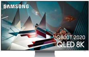 "TV 65"" Samsung QE65Q800TATXXC - 8K UHD, QLED, Smart TV (via ODR de 512.49€)"