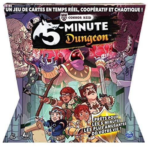 Jeu de société 5 Minutes Dungeon