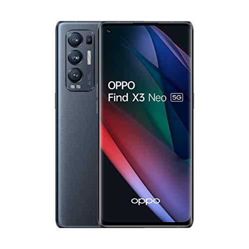 """Smartphone 6.55"""" Oppo Find X3 Neo 5G (FHD+ 90 Hz, SD 865, 12Go RAM, 256Go, 50 Mpix) + écouteurs Enco X (+ 20.97€ en RP) - Boulanger"""