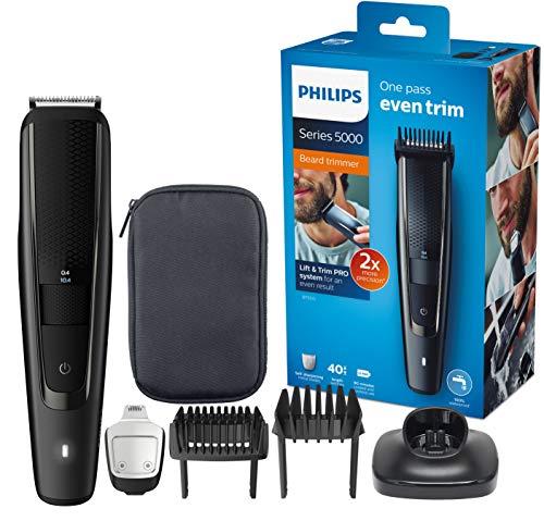 Tondeuse Barbe Philips BT5515/15 Series 5000 avec Guide de Coupe Pro Dynamique