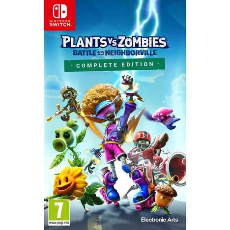 Plants vs. Zombies La Bataille de Neighborville Complete Edition sur Nintendo Switch