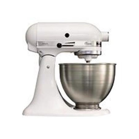 Robot Pâtissier Multifonctions KitchenAid 5K45SSEWH (Via 143,82€ sur Carte Fidélité)