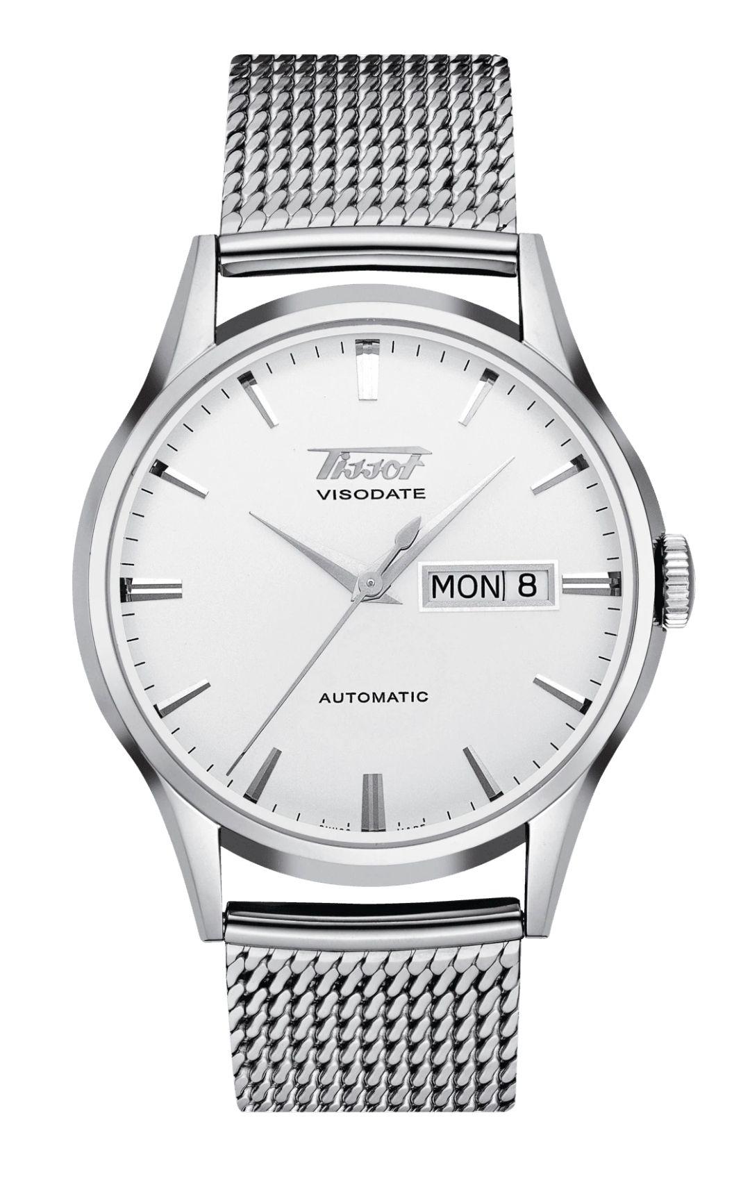 Montre automatique Tissot Heritage Visodate T019.430.11.031.00 - Verre Saphir, mouvement ETA 2836-2, 40 mm