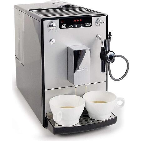 Machine à café automatique Melitta Caffeo Solo & Perfect Milk E957-305 - 15 bars, Broyeur Intégré (Via 122.06€ sur la carte de fidélité)