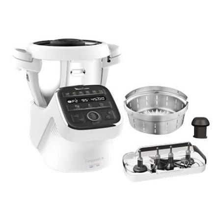 Robot cuiseur Moulinex Companion XL HF80CB10 - 1550W (Via 237.66€ sur Carte Fidélité)