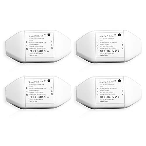 Lot de 4 interrupteurs connectés Meross MSS710 - compatibles assistants vocaux (vendeur tiers)
