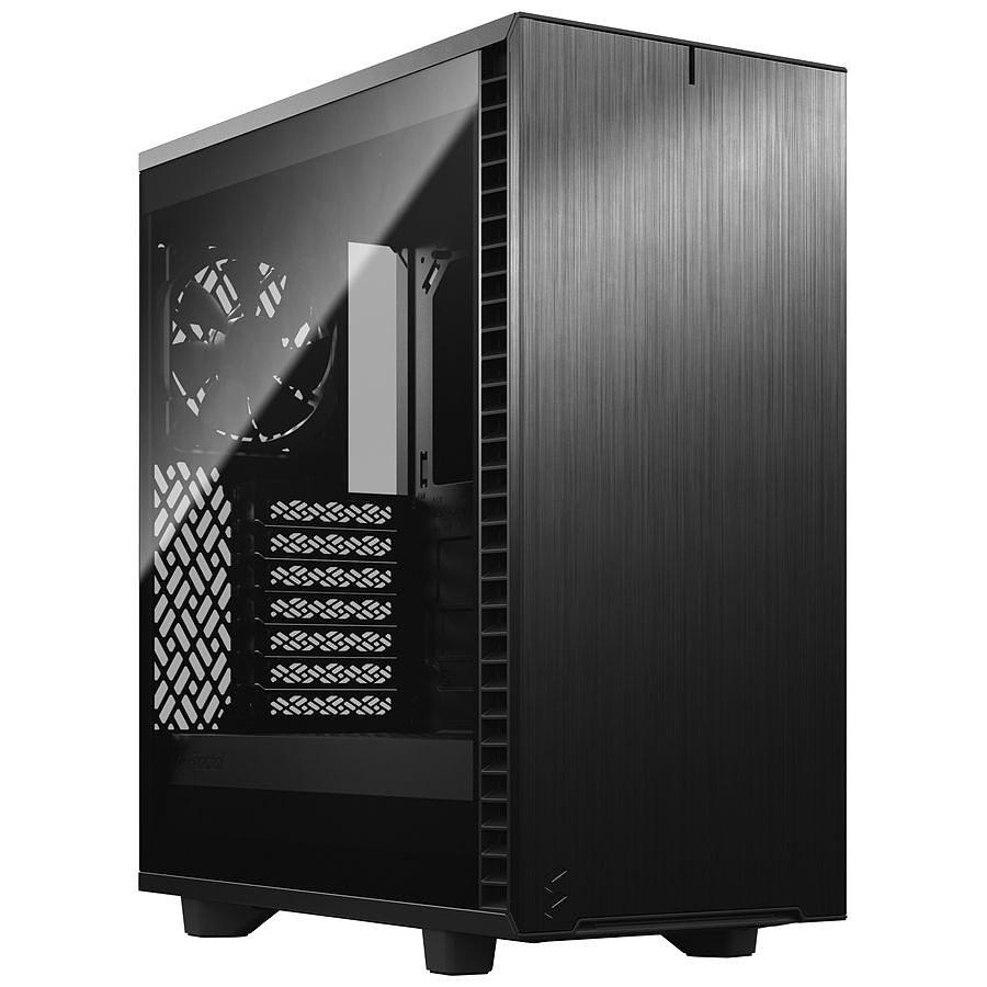 Boitier PC Fractal Design Define 7 Compact Dark TG - ATX, Noir