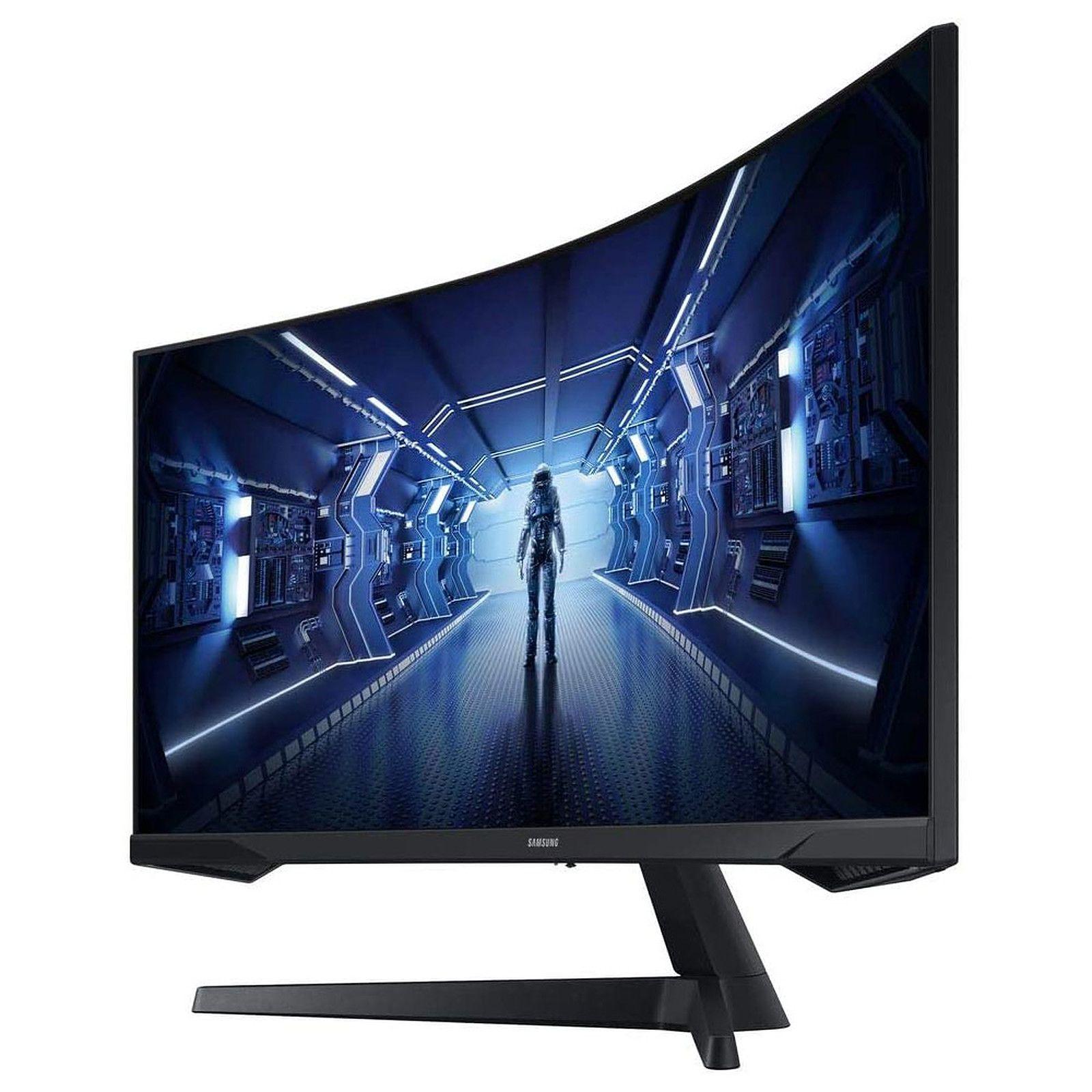 "Ecran PC incurvé 34"" Samsung Odyssey G5 LC34G55TWWRXEN - UWQHD, 165 Hz, Dalle VA, 1 ms"