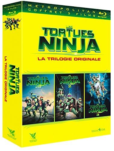 Blu-Ray Tortue Ninja La Trilogie: Le Film + Le Secret de la Mutation + Les Tortues Ninja 3 : Nouvelle génération