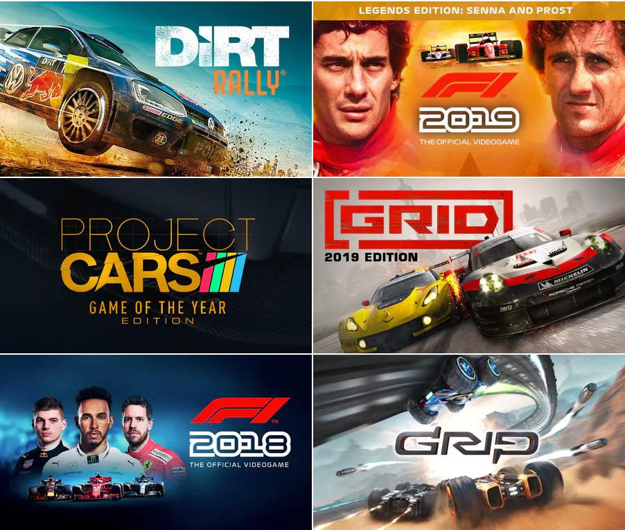 Sélection de jeux de course sur PC en promotion (dématérialisés, Steam) - Ex : Dirt Rally
