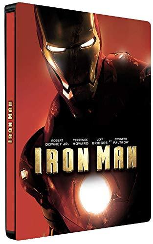 Blu-ray 4K UHD Iron Man (avec steelbook)