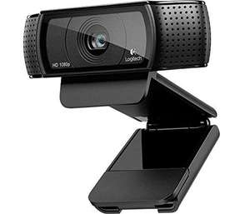 Webcam Logitech HD Pro C920 - Full HD avec microphone intégré