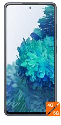 """Smartphone 6.5"""" Samsung Galaxy S20 FE 5G - full HD+, SnapDragon 865, 6 Go RAM, 128 Go, bleu (via ODR 100€)"""