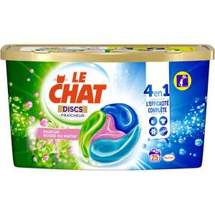 80% cagnottés sur une sélection de produits - Ex : Boite de 25 capsules de lessive Le Chat (Magasins participants)