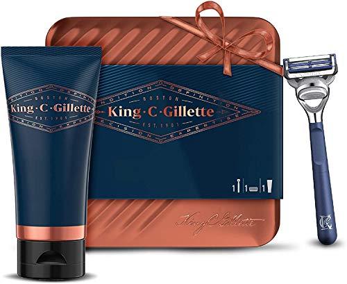 Kit de Rasage Homme Complet King C. Gillette