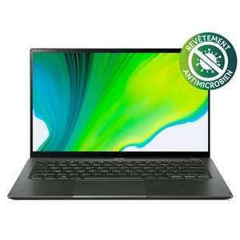 "PC Ultra-Portable 14"" Acer Swift 5 SF514-55T-71NL - Ecran tactilen Intel Core i7, 16 Go RAM, 512 Go SSD, Vert (+90€ pour les adhérents)"