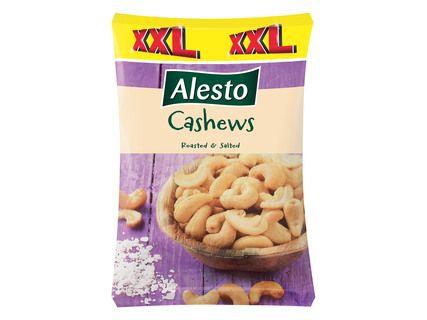 Noix de cajou grillées et salées Alesto - 250g