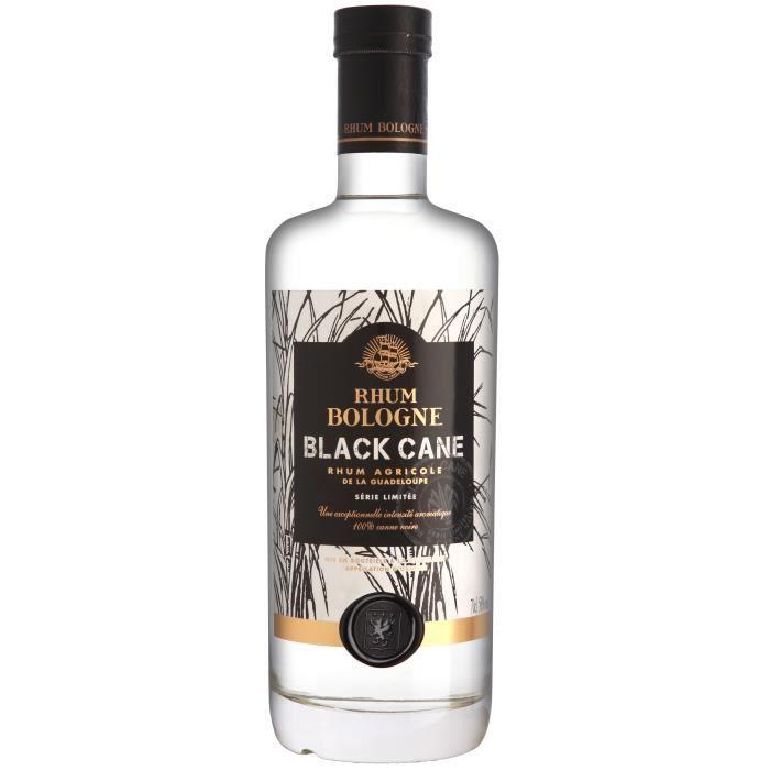 Bouteille de rhum Bologne Black Cane - 70 cl