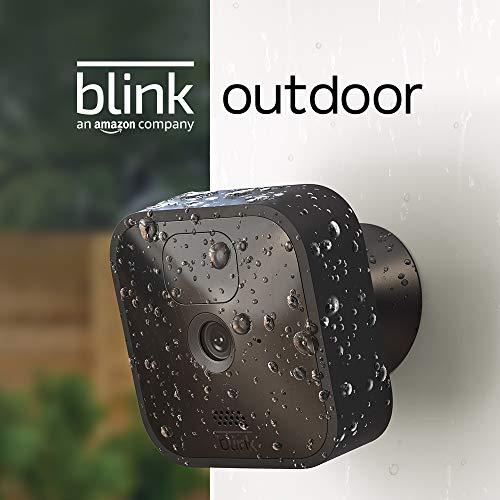 Sélection de caméras de surveillance connectées Blink - Ex : Caméra extérieure Blink Outdoor (HD, Autonomie 2 ans)