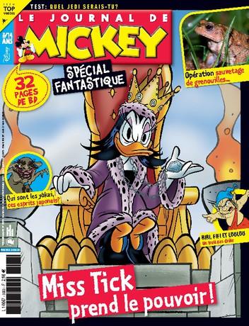 Sélection d'abonnements aux magazines Disney en promotion - Ex : Le journal de Mickey (52 numéros - Abonnement d'un an)