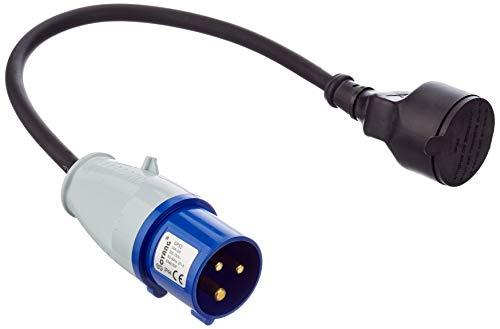 Câble adaptateur avec prise mâle vers fiche CEE Perel ECEEC3M - 40 cm