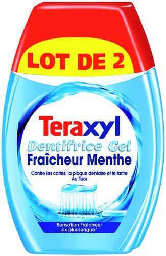 Lot de 2 dentifrices Teraxyl - 2 x 75ml (via carte de fidélité)