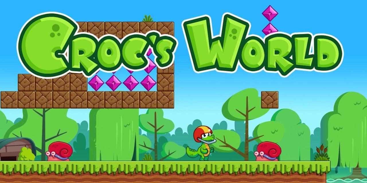 Sélection de Jeux en Promotion à 0.99€ sur Nintendo Switch (Dématérialisés) - Ex: Croc's World