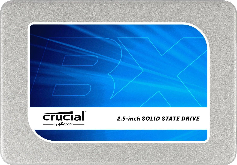 """SSD interne 2.5"""" Crucial BX200 (Mémoire TLC) - 960 Go à 208.78€ et 480 Go"""