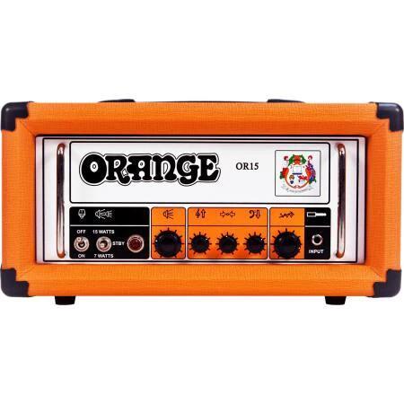 Tête d'ampli guitare à lampes Orange OR15H - 15 W