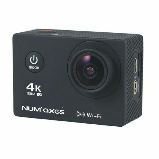 Caméra sportive Num'Axes CAM1014 - Noir