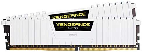 Kit mémoire RAM Corsair Vengeance LPX - 16 Go (2 x 8 Go) DDR4, 3200MHz, CL16, XMP 2.0 (Blanc)