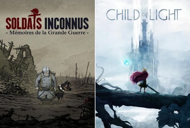Soldats Inconnus - Mémoires de la Grande Guerre ou Child of Light à 4.49€ sur Xbox One & X S (Dématérialisé)