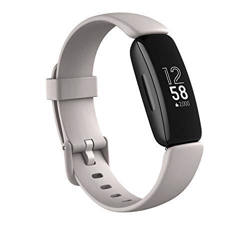 Bracelet connectée Fitbit Inspire 2 (Blanc Lunaire, Noir, Rose)