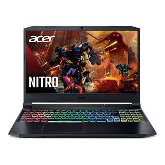 "PC Portable 15.6"" Acer Nitro 5 AN515-55-71VA - 144 Hz, i7-10750H, RTX 3060, RAM 16 Go, SSD 512, Windows 10"