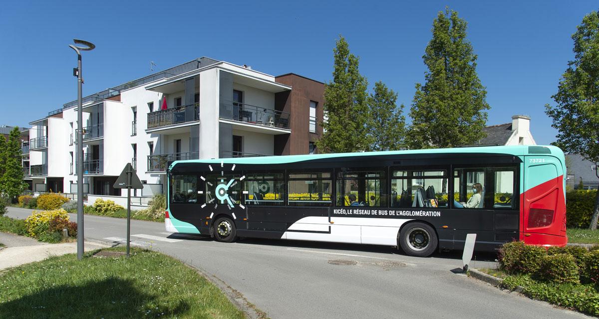 Transport en Bus gratuit le Samedi sur le réseau Kicéo (Vannes 56)