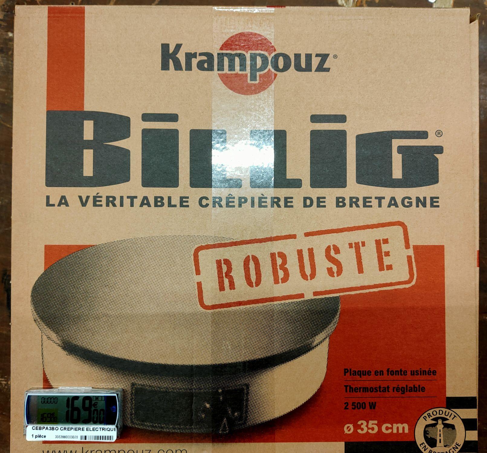 Crêpière électrique Krampouz Billig (35 cm, 2500 W) - Laval (53)