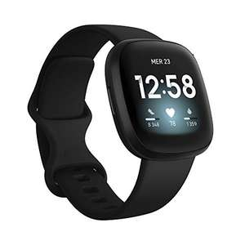 Montre connectée Fitbit Versa 3 - Noire