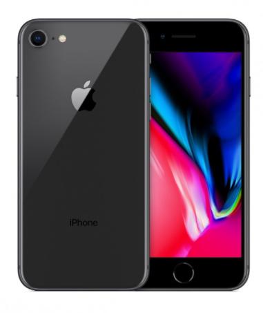 """Smartphone 4.7"""" Apple IPhone 8 - 64Go, Reconditionné + Forfait Mobile Red avec appels/SMS/MMS Illimités + 100Go DATA (engagement 24 mois)"""
