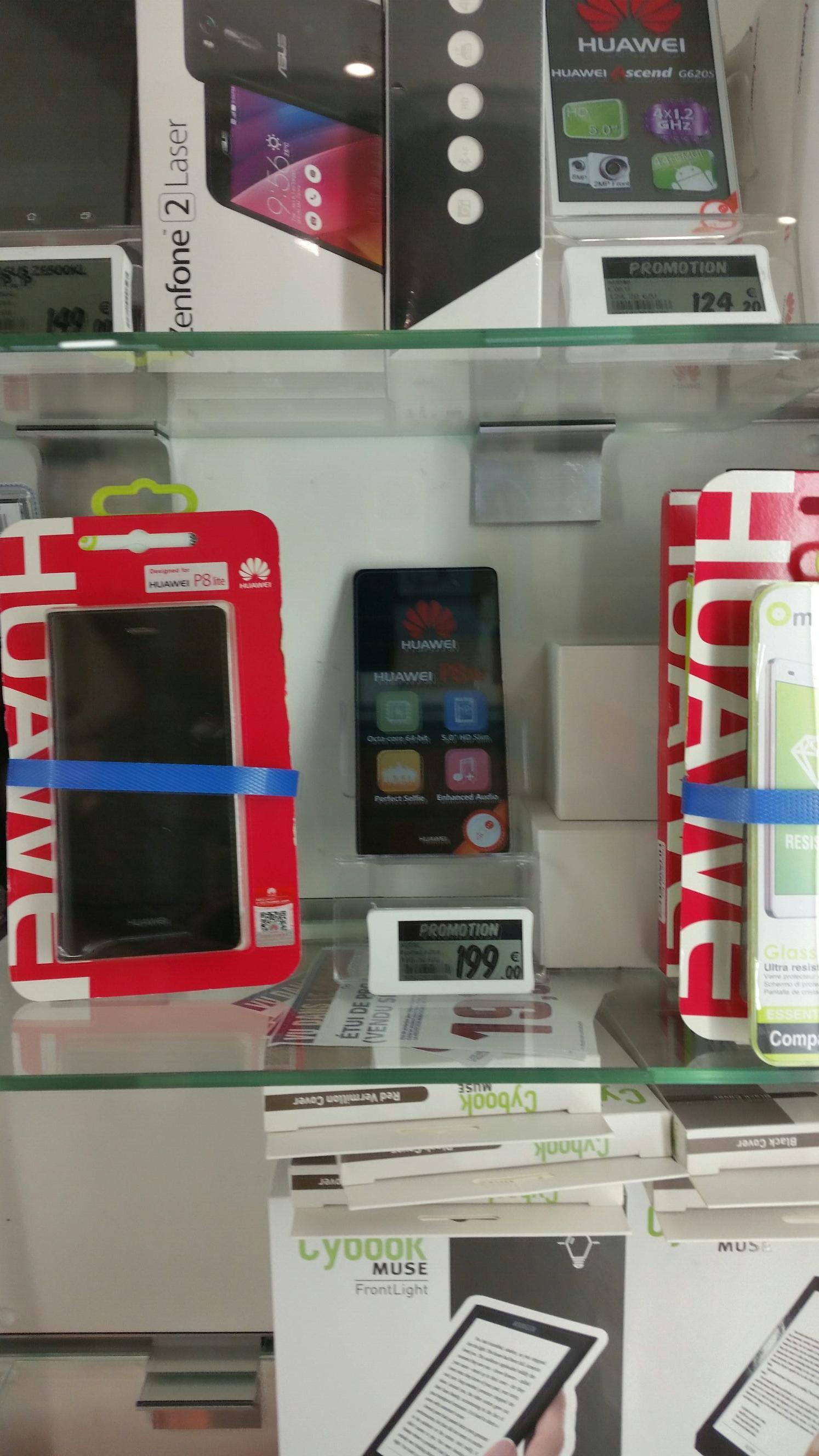 Huawei P8 Lite + Accessoires (via ODR 40€)