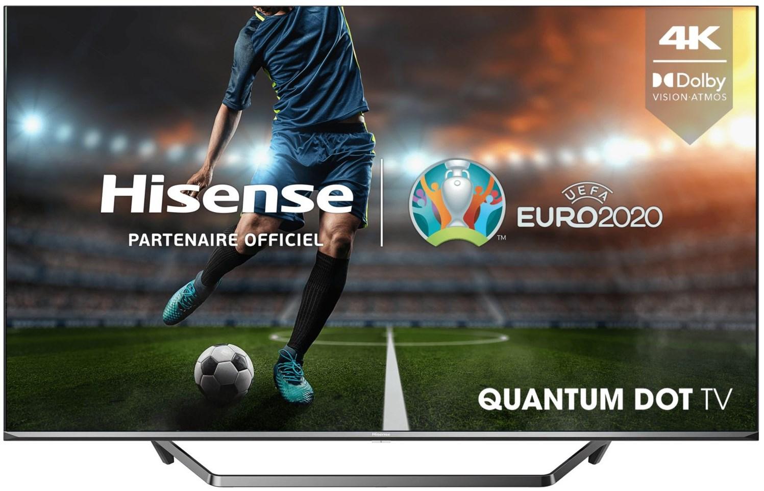 """TV 50"""" Hisense 50U72QF - QLED, 4K, HDR 10+, Dolby Vision, 50 Hz, Smart TV (Via ODR de 100€)"""